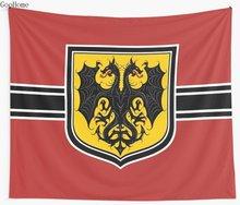 Youjo Senki Saga of Tanya the Evil Empire Flag Wall Tapestry Cover Beach Towel Throw Blanket