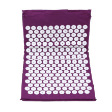 Purple Yoga Massage Pill Acupressure Rugs Relieve Stress Pain Acupuncture Spike Yoga Pad Pad / Yoga Mats