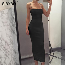 Spaghetti Strap Backless Sexy Long Dress Party Off Shoulder Strapless Summer Maxi Dress Black Red White Bodycon Party Dress Women