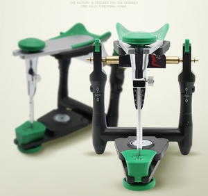 Image 3 - 1 set Dental lab functional zinc alloy articulator  model bite articulator fiting face bow for stone model work