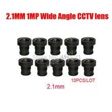 DIY 2 1mm 170 Degrees 1MP HD Wide Angle View font b CCTV b font Lens