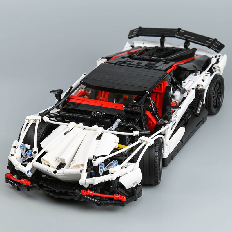 Lepin 23006 Genuine MOC Technic Series The Super Racing Car Set MOC-3918 Building Blocks Bricks LEGOing Toys as Kids Gifts lepin 20054 4237pcs the moc technic series the remote control t1 classic volkswagen camper set 10220 building blocks bricks toys