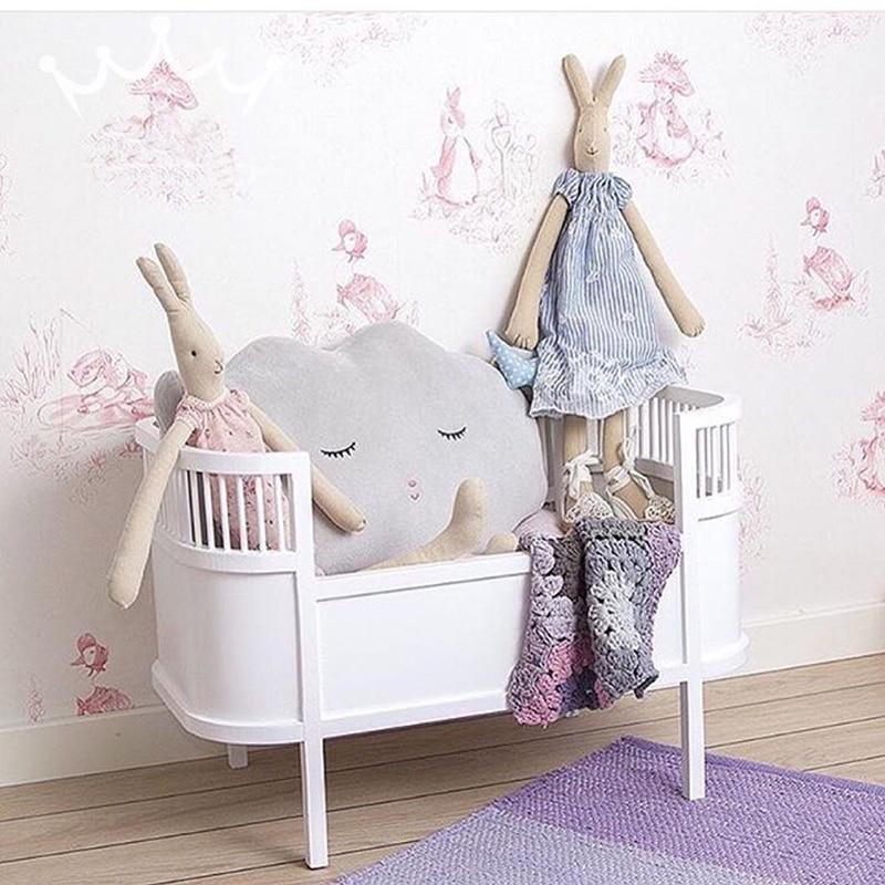 Angela lalki łóżko dziewczyny akcesoria dla lalek udawaj, że zabawki słodkie słodkie laleczka drewniane łóżko dla dziecka dziecko urodziny/prezent na Boże Narodzenie w Akcesoria dla lalek od Zabawki i hobby na  Grupa 1