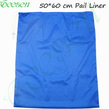 50*60 cm Drawstring Bag And Waterproof Travel Wet Bag Single Pocket  Diaper  Pail Liner Bag