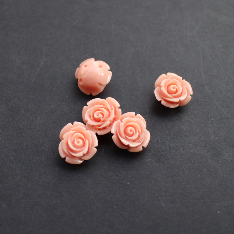 100pcs Floral Céramique Porcelaine ethnique Loose Beads For Handicrafts Ornements