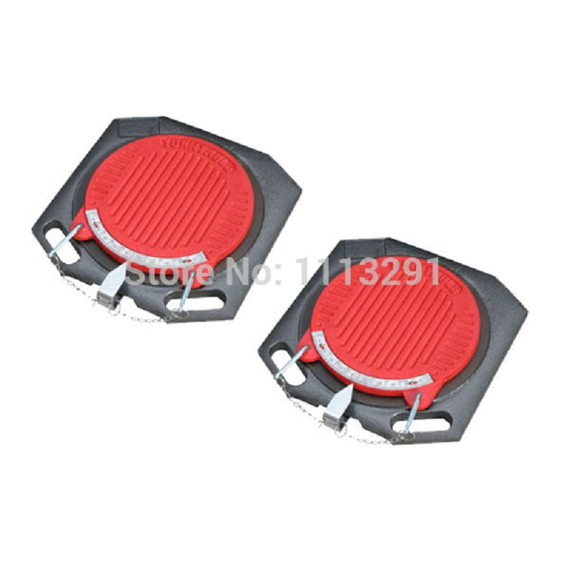 Wheel alignment turning plates for heavy duty vehicle alignment turn tables wheel aligner accessories ...