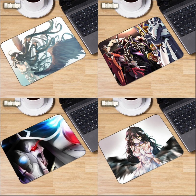 Mairuige® Overlord Characters Mousepad Ainz Ooal Gown Anime Girls Mats