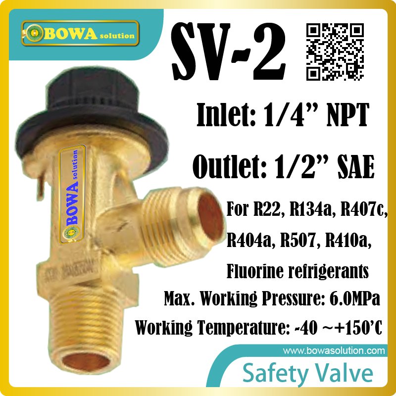 The valves are especially designed for safety requirements for industrial refrigeration installations, such as liquid receivers the valves are self acting i e they operate without the supply of auxiliary energy such as electricity or compressed air