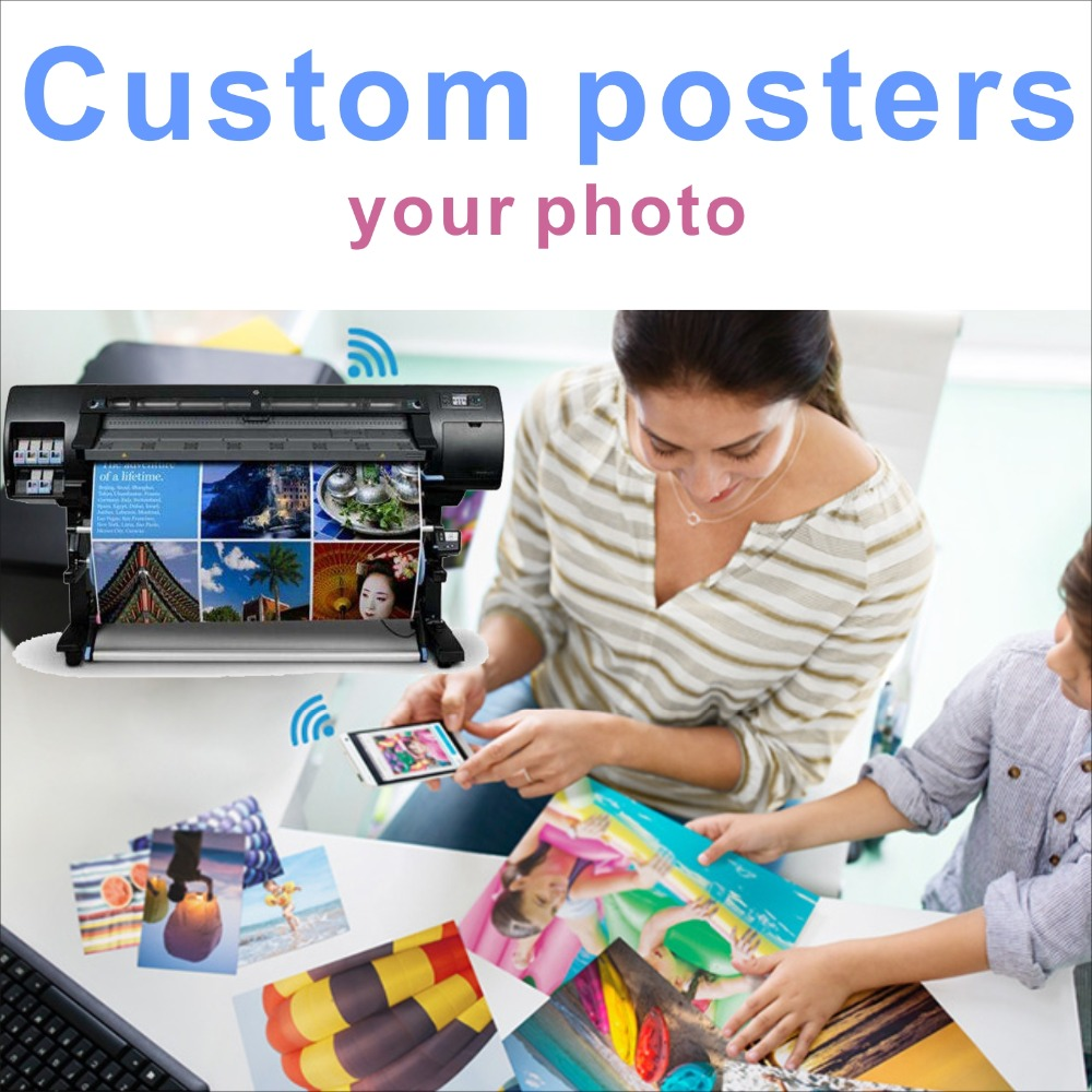 Custom Silk Poster Canvas Print 60x90 Cm Anime Movie Landscape Poster Customized For Your Home Wall Decor