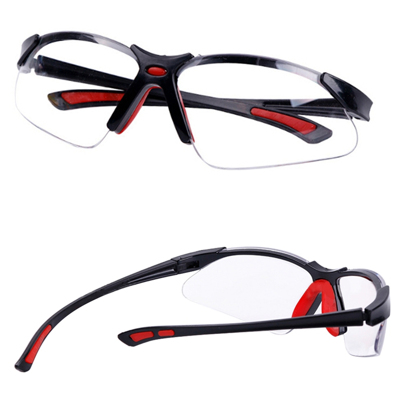 Soft Nose Glasses Protective Wind And Dustproof Laser Glassesanti-UV Safety Clear Anti-impact Factory Lab Outdoor Work  Goggles