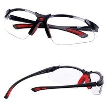 نظارات ناعمة واقية للرياح والغبار بالليزر ، نظارات واقية ضد الأشعة فوق البنفسجية ضد الصدمات ، نظارات عمل خارجية للمختبر