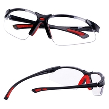 Soft Nose Glasses Protective Wind And Dustproof Laser Glassesanti UV Safety Clear Anti impact Factory Lab Outdoor Work  Goggles