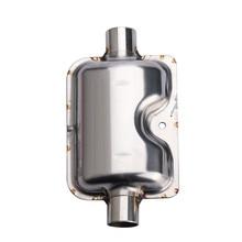 Лидер продаж 165x90 мм выхлопной Системы нагреватель глушитель на выхлопную трубу трубы 12 V/24 V 22/24 мм подходит для Webasto Eberspacher тепла, воздуха и воды