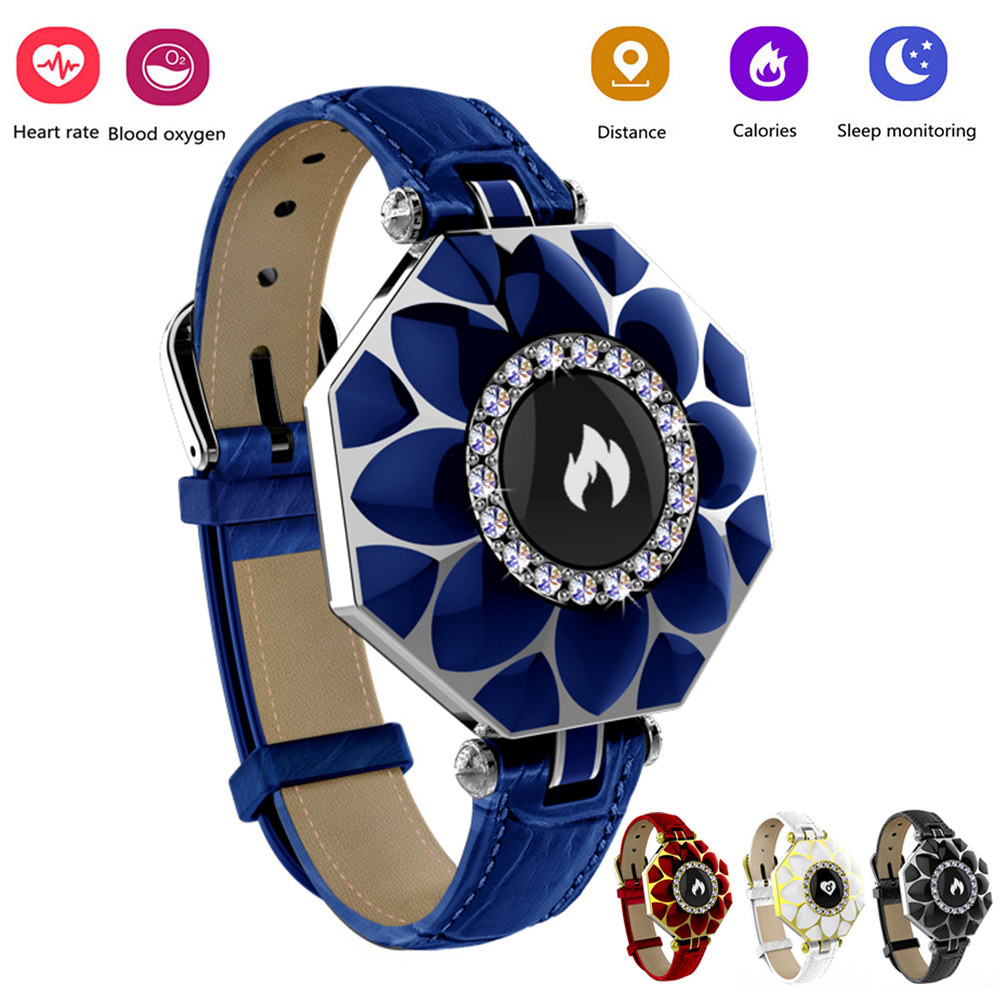 2018 Fashion Smart Bracelet Girl Women Heart Rate Monitor Wrist Smartband Lady Female Fitness Tracker Wristband for Android IOS s3 bluetooth waterproof smart watch wristband fashion women ladies heart rate monitor fitness tracker smartwatch for android ios