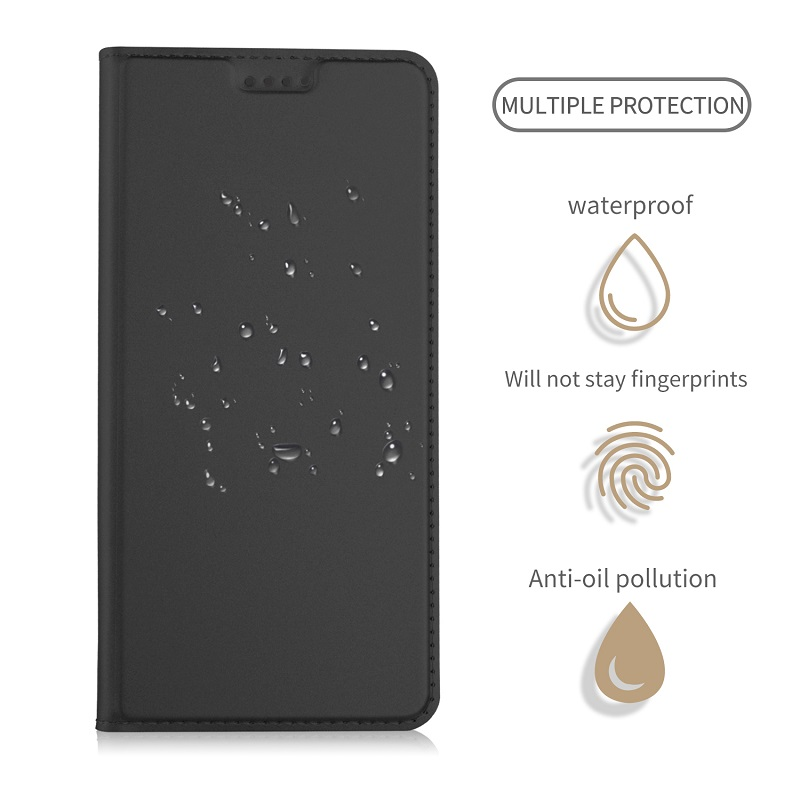 Date Arrivée pour ASUS ZenFone 5z Téléphone Cas, luxe Plaine Carte De Visite de Poche pour ASUS ZenFone 5z Flip Cas En Cuir Magnétique