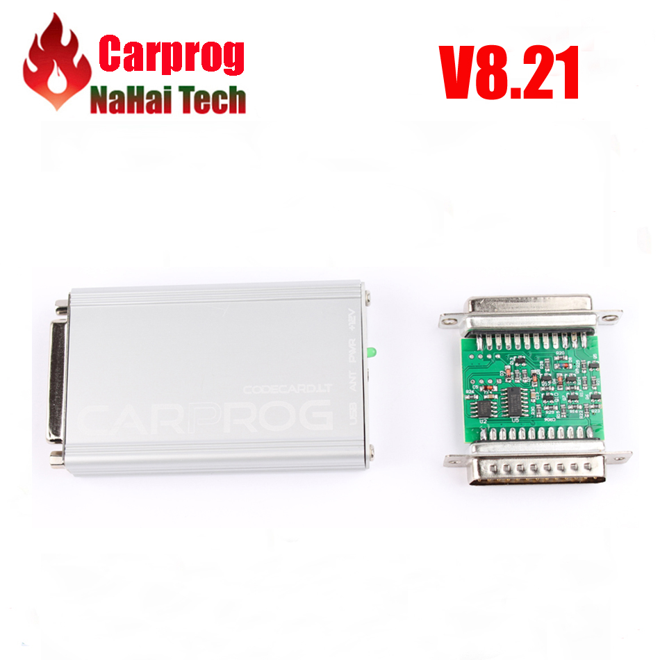 US $80 0  DHL Free Carprog V8 21 Online Access Clone programmer with full  21 adapters ECU Chip Tuning better than 7 28 and 10 93 on Aliexpress com  