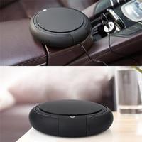 Car Air Purifier, Home Negative Ions Air Purifier Filter Car Diffusers Portable Mini Travel Table USB Air Cleaner Freshener