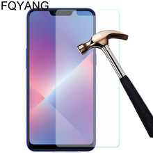 FQYANG 2PCS 9H Tempered Glass For OPPO R17 F9 F1 F1S F3 PLUS NEO9 N3 N1 MINI NEX U707 Protective Screen Protector