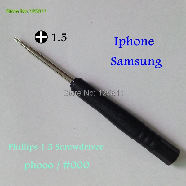 100pcs/lot CALL PHONE TOOLS  Phillips 1.5/2.0 screwdriver For iPad iphone Internal screw Dismantle Tool