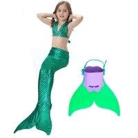 2017新しい女の子の夏のドレス人魚衣装ファクトリーアウトレット水着ビキニフルスケールマーメイドテールコスプレでmonofinビキ