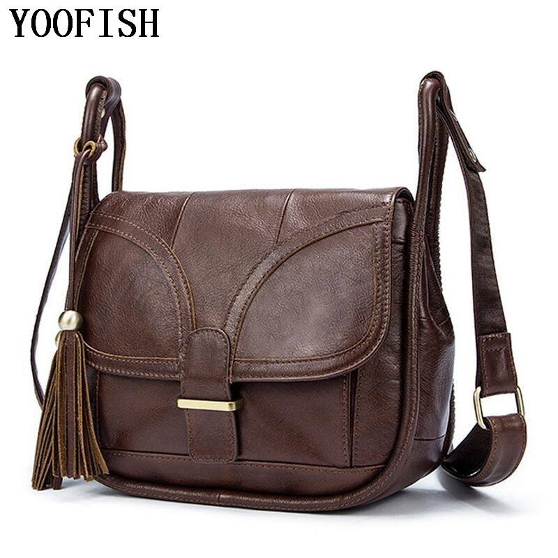 Brand Genuine Leather Bag Designer Handbags High  quality Single Shoulder Bag Women Messenger Crossbody Bags Tote Bolsos LJ-0791 2017 new arrival designer women leather handbags vintage saddle bag real genuine leather bag for women brand tote bag with rivet