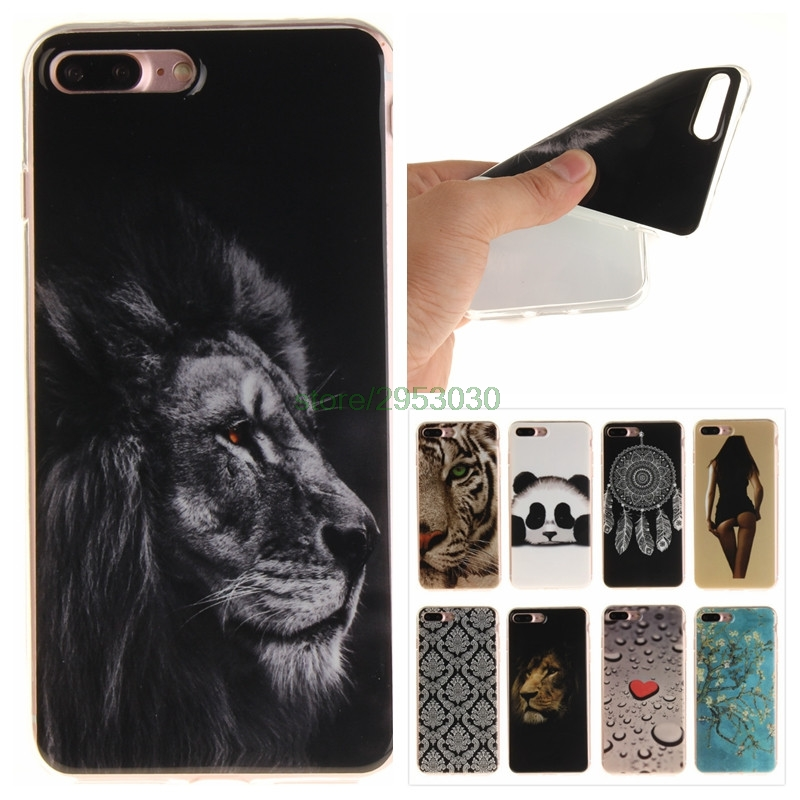Phone Back Cover for Apple 7 Plus iPhone 7Plus Coque TPU Silicone for Apple IPhone 7 Plus IPhone7Plus Case Coque Phone Bags