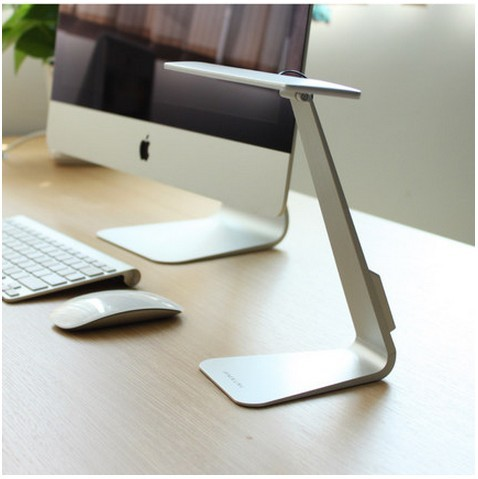 3 Color Option Eye-Protection Portable Desk Lamp Ultra-thin with 28 LED,3 Level Table Lamp of Brightness Night Light Mac Style