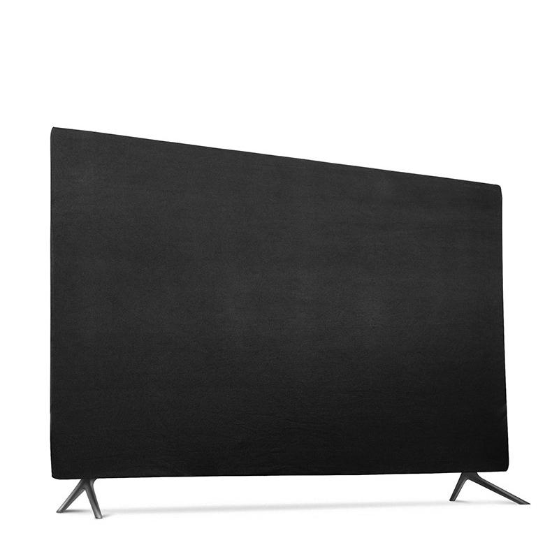 """Soft Elastic Fabric Cover for 43"""" 49"""" 55"""" LCD TV Hang-type Television Protector Case Scratch Resistant Splash Proof LA007"""