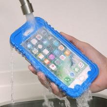 Kisscase Водонепроницаемый чехол для iPhone 7 6 6 S Plus для Samsung S8 плюс S7 S6 Edge Plus S5 S4 S3 Примечание 5 4 подводный телефона случаях
