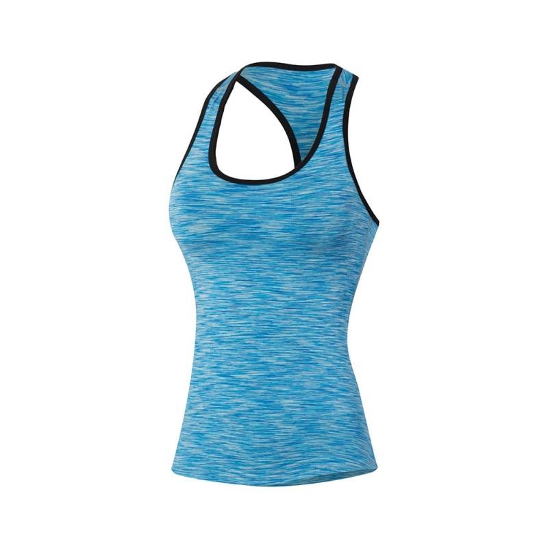 2018 new Outdoor Women Quick-Drying Tight Vest Tank Sports Training Running Fitness Jogging Yoga Vest