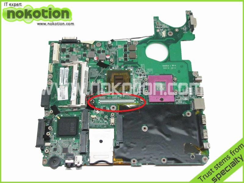 NOKOTION laptop motherboard for toshiba satellite P300 A300 A000032160 DABL5SMB6E0 intel 965GM DDR2 Mainboard Mother Boards стоимость