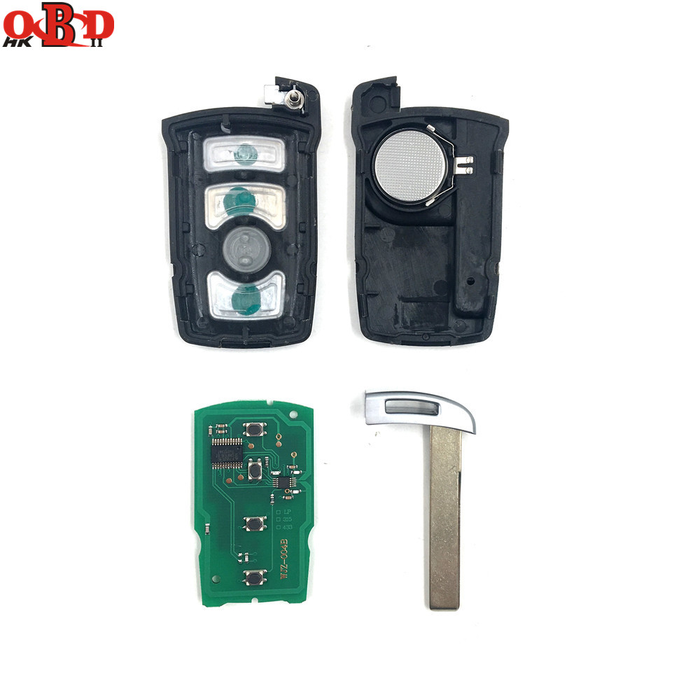 Image 3 - HKOBDII BM7 Full Remote Car Key 7945 chip for BMW 7 Series 730/740(E65/E66) CAS1/CAS2 Anti theft System 315/433/868MHZ-in Car Key from Automobiles & Motorcycles