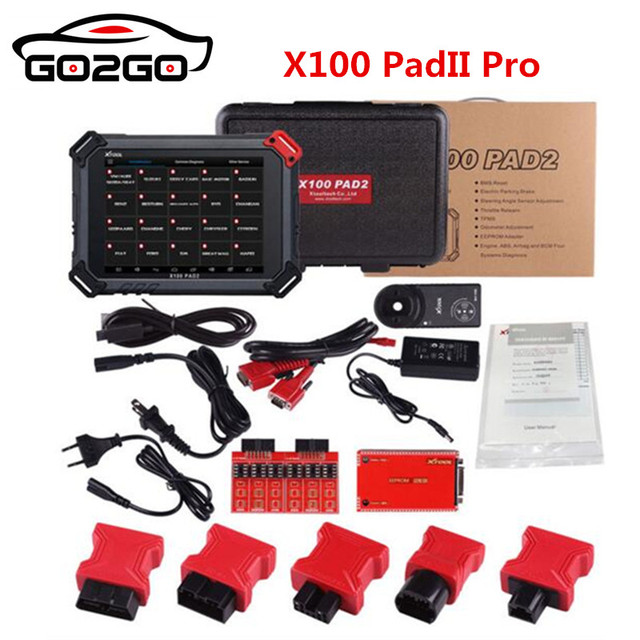 Hot XTOOL X100 PADII PAD 2 pro with for VW 4th 5th X100 PAD2 better than X300 Pro3 with Special function DHL Free ship