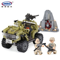 XINGBAO 06010 Genuine Military Series The Oprah Sand Car Set Building Blocks Bricks Legoinglys Toys As