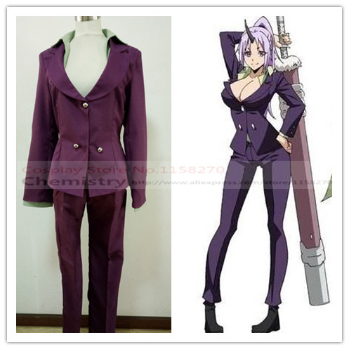 That Time I Got Reincarnated as a Slime Shion Cosplay Costume