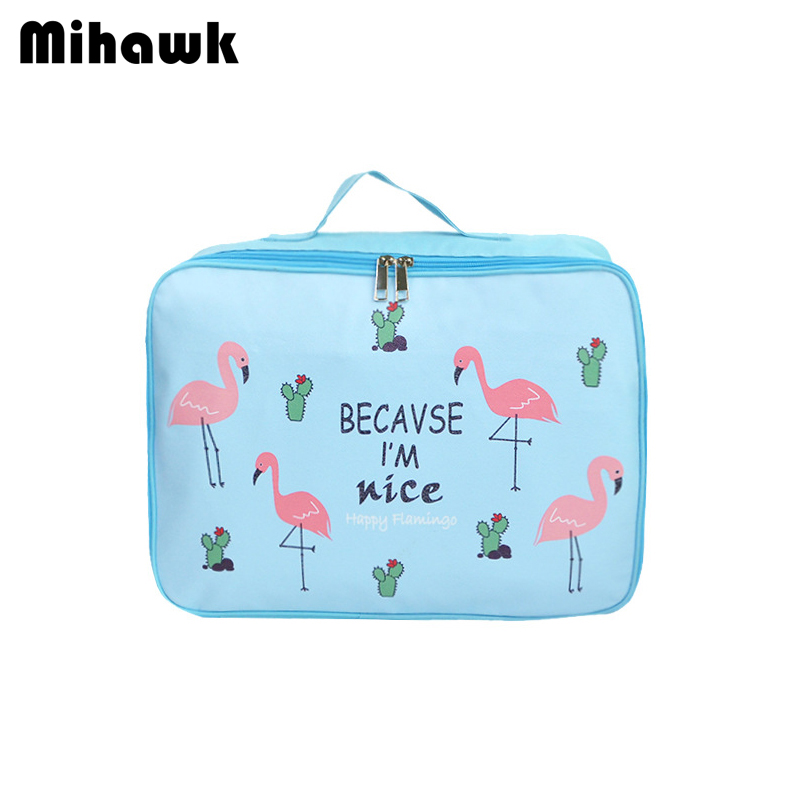 dc2ef8a0282a Aliexpress.com : Buy Mihawk Cartoon Travel Bags Clothes Luggage  Organization Collation Pouch Reusable Baggage Zipper Pack Supplies Items  Gear Stuff ...