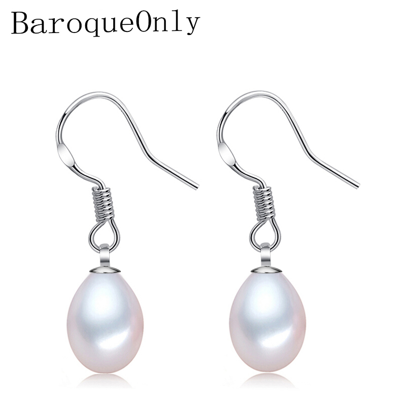 BaroqueOnly Fashion Freshwater Dangle Pearl Earrings