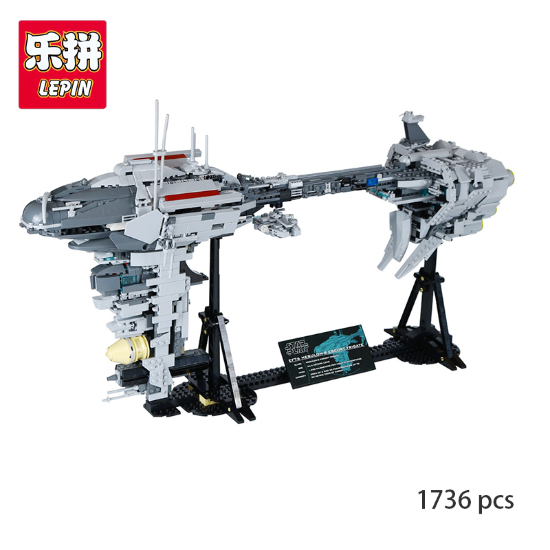 Lepin 05083 Nebulon-B Frigate Star MOC Series Children Compatible With lego Educational Building Blocks Bricks Toys Gifts Wars shirly new rest stop dream house building blocks compatible with lego bricks girl s educational toys birthday christmas gifts