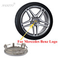 4pcs 75mm For Mercedes Benz w211 w203 w204 w210 w124 w202 w212 cla w220 Emblem Wheel Center Hub Caps Cover Badge Rim Caps