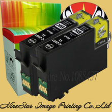 2 Black Ink Cartridge untuk EPSON 29 29XL T2991 untuk Epson XP235 XP332 XP335 XP432 XP435 XP245 XP247 Tinta Printer cartridge E210(China)
