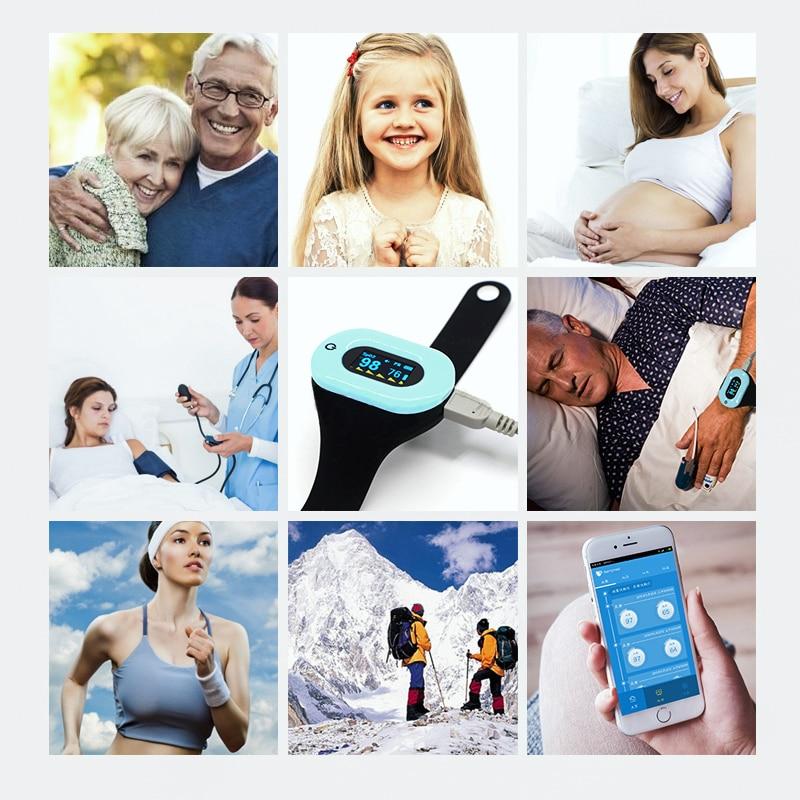 F H beauty пульсометр для измерения артериального давления портативный медицинский монитор для измерения артериального давления пульсометр с... - 6