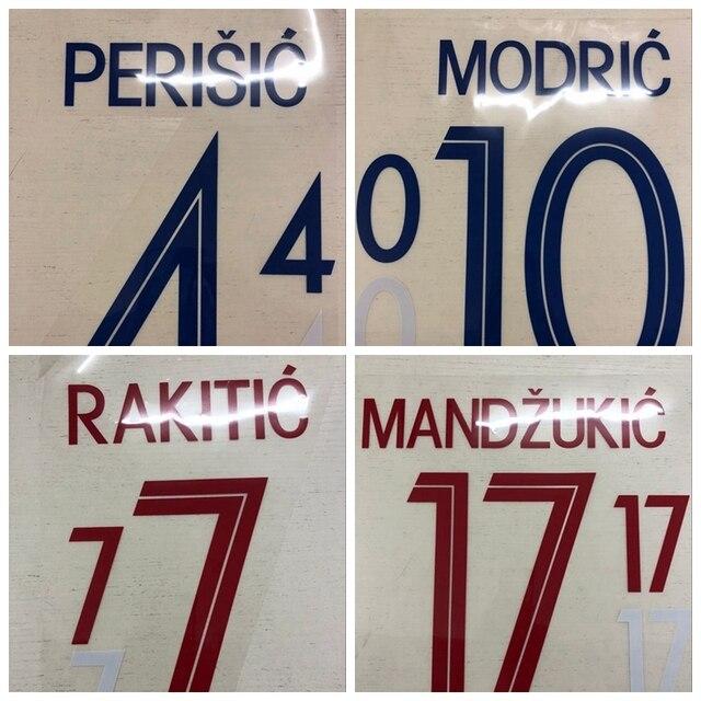 4477a259b4a Aliexpress.com   Buy New croatia PERISIC MODRIC RAKITIC MANDZUKIC ...