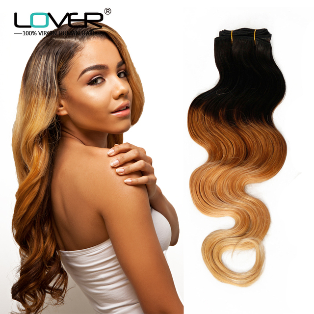 Grade 7a Peruvian Ombre Hair Extensions Body Wave 1b27613 Best