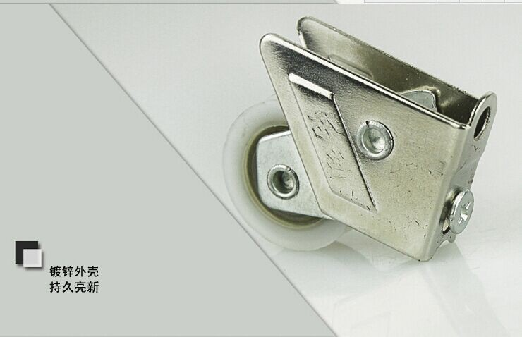 828 Винтаж двери из алюминиевого сплава и аксессуары для окон шкив раздвижной двери Обрезной двойной