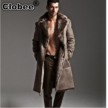 d9e63fcafc8 US $90.42 49% OFF|2019 Winter Office Mens Faux Fur Coat Long Style  Windbreaker Fall 2018 Luxury Plus Size Two Sided Thick Mink Fur Coat  V508-in Faux ...