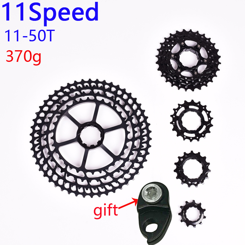 SUNSHINE MTB 11 Speed 11-50T Cassette 365g Ultralight Bicycle Freewheel 11t Bicycle Parts Mountain For Shimano M9000 M8000 M7000SUNSHINE MTB 11 Speed 11-50T Cassette 365g Ultralight Bicycle Freewheel 11t Bicycle Parts Mountain For Shimano M9000 M8000 M7000