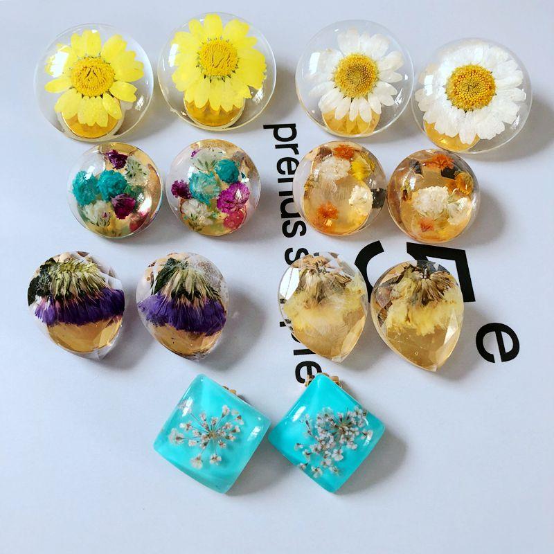 Free Shipping New Sweet Cute Flower Petal Elegant Clip Earring