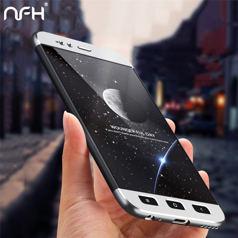 NFH 360 Degree Protective Cases For Xiaomi Mi a1 Mi5x Full Cover Hard Back Phone Mi5X Case shell