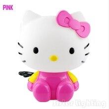 Free Shipping 1Piece Kitty Cat Night light Desk lamp Night sleeping lamp for children room best for gift