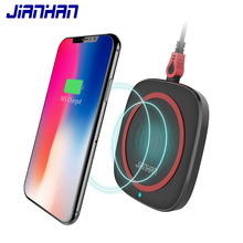 Qi 15W Wireless Charger for USB Charging Samsung Galaxy S8 S9 S7 Edge High Quality